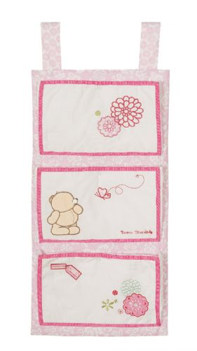 'IZZIWOTNOT' FOREVER FRIENDS PINK COLOUR NAPPY STACKER